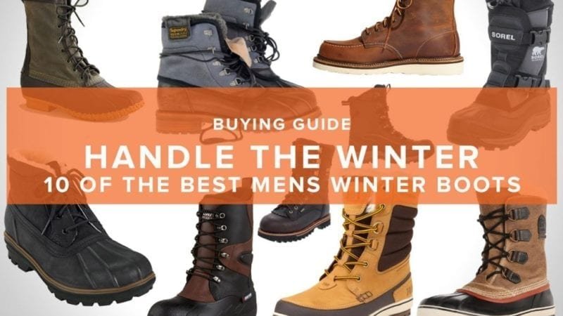 Best Winter Boots For Men 2019