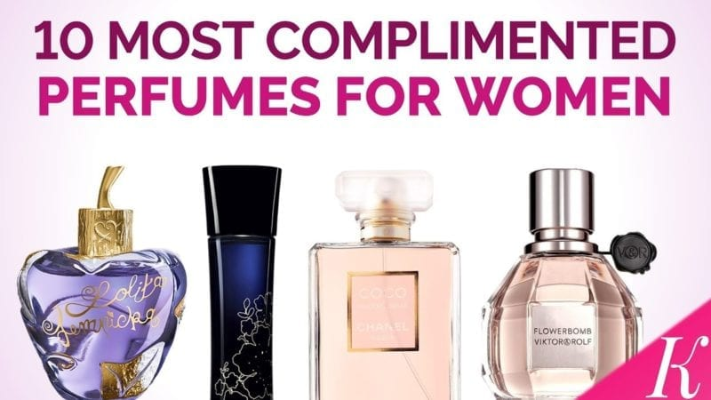 Top Ten Women's Perfumes